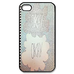 The Fault in Our Stars iPhone 4 4s Case - Okay? Okay iPhone 4s Cover ATR018325