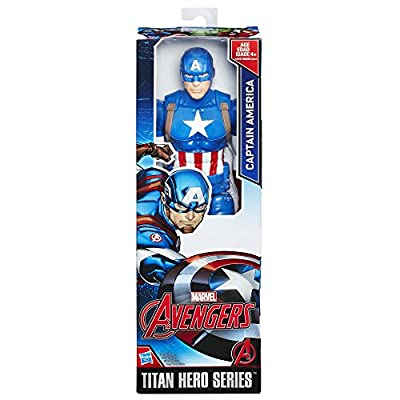 Marvel Titan Hero Series 12-inch Captain America Figure from Hasbro