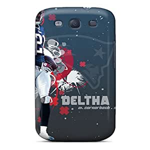 Waterdrop Snap-on New England Patriots Cases For Galaxy S3