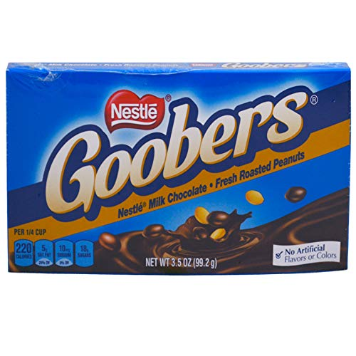 - (Pack of 15) Nestle Goobers Chocolate Candy, 3.5oz