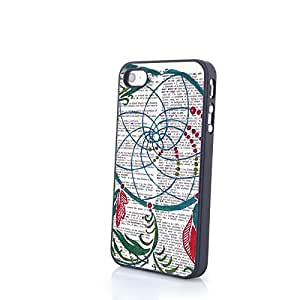 Generic Awesome Dream Catcher Pattern Case for iPhone 4/4S PC Cover Protector Matte Shell
