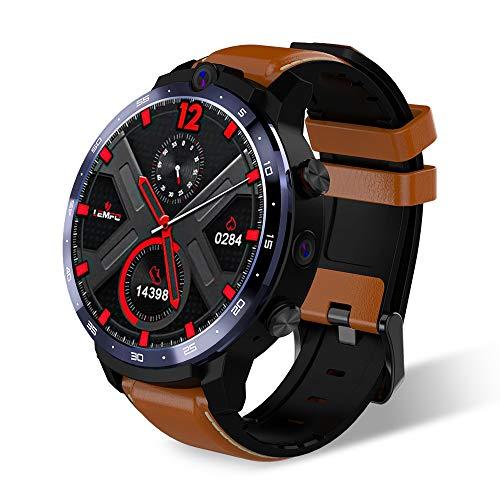 WQYRLJ Smart Watch 4G Face ID 1.6 Inch Full Screen OS Android 7.1 3G RAM 32G ROM LTE 4G Sim WIFI Heart Rate Men Women…