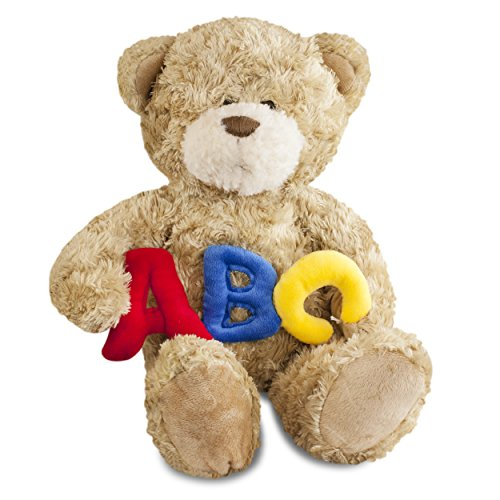 Gitzy ABC Teddy Bear Bold 12in ()