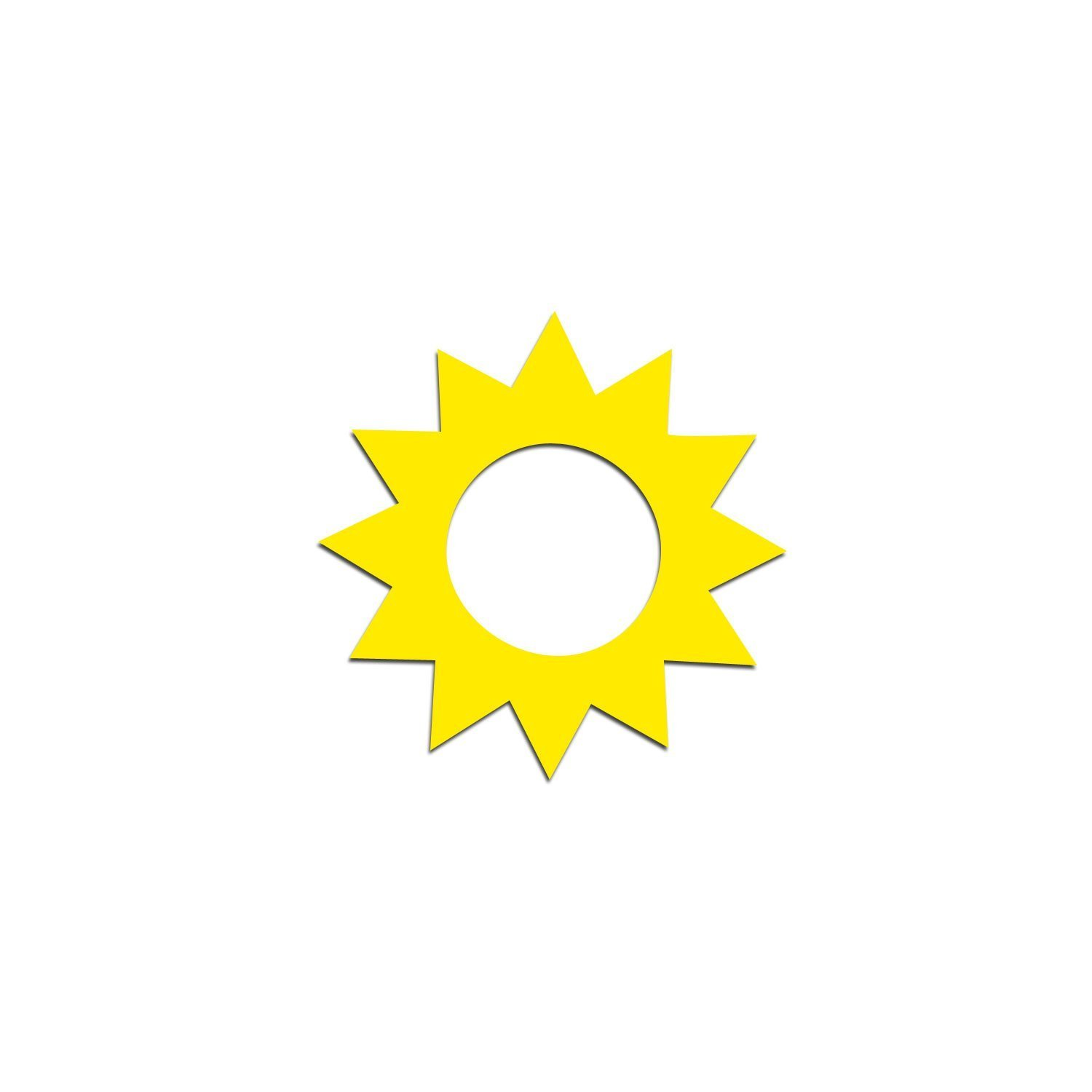 Sunburst Tanning Stickers