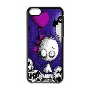 Murasaki Baby Game iPhone 5c Cell Phone Case Black TPU Phone Case SV_126342
