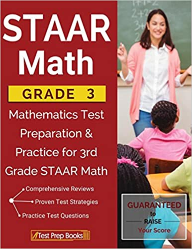 Amazoncom Staar Math Grade 3 Mathematics Test Preparation