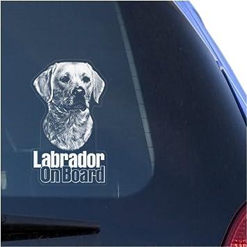 "Labrador Retriever Paw Print Adhesive Vinyl Decal Sticker Car Truck Window  6/"""