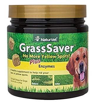 Nvet Grass Save Cran Chew 120ct (Pack of 2) by NaturVet