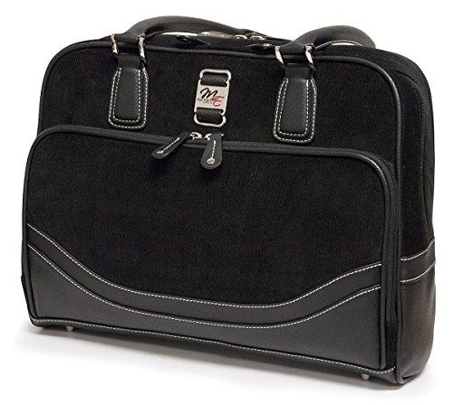 Mobile Edge Classic Corduroy Small 14'' Laptop Tote Bag, Handbag in Black