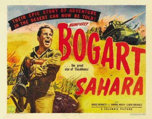 Sahara POSTER Movie (30 x 40 Inches - 77cm x 102cm) (1943) Sahara Movie Poster