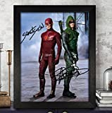 Grant Gustin & Stephen Signed Autographed Photo 8X10 Reprint Rp Pp - Arrow & The Flash