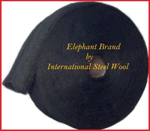 #0000 Steel Wool, 5 lb Roll by Elephant Brand