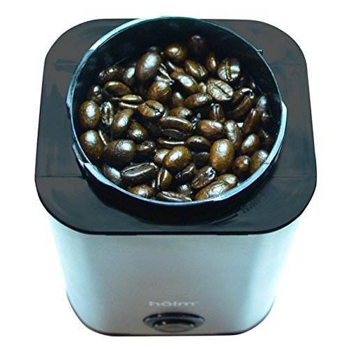 Holm Stainless Steel Electric Coffee Bean Grinder