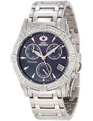 Swiss Precimax Womens SP12079 Desire Elite Diamond Mother-Of-Pearl Dial Watch