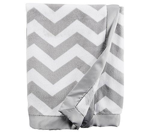 Carters Baby Chevron Plush Blanket