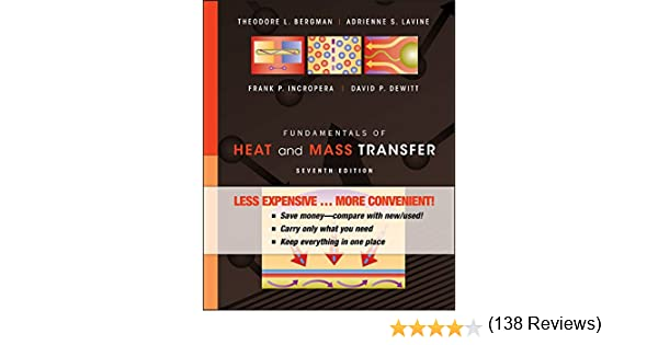 Fundamentals of heat and mass transfer theodore l bergman fundamentals of heat and mass transfer theodore l bergman adrienne s lavine frank p incropera david p dewitt 9780470917855 amazon books fandeluxe Choice Image
