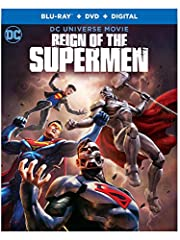 Reign of the Supermen (Blu-ray/DVD/Digital)After Superman is put to rest, following his battle with Doomsday, his body is stolen from its tomb. As authorities investigate, new and completely different Supermen start appearing on the scene, ma...