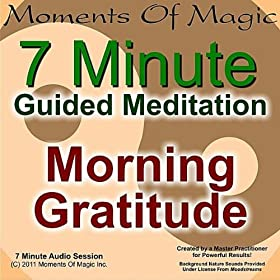 Amazon.com: 7 Minute Guided Meditation - Morning Gratitude ...