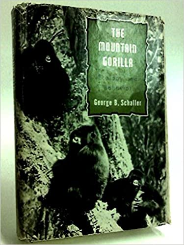 The Mountain Gorilla: Ecology And Behavior Mobi Download Book