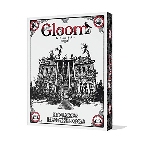 Edge Entertainment – Juego de cartas Gloom: Hogares Desdichados, Español (EEAGGL02)