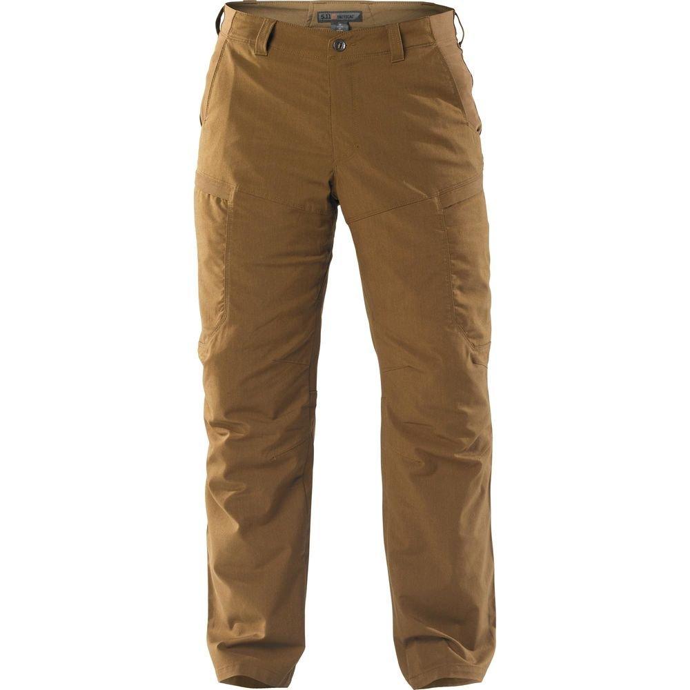 5.11 Men's Apex EDC Pants, Battle Brown, 33W-30L