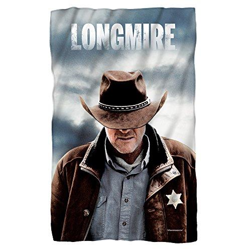 Sheriff -- Longmire -- Fleece Throw Blanket (36