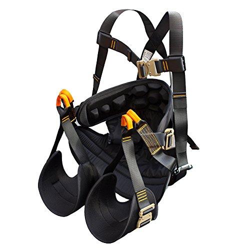 Fusion Climb Roar Maximum Comfort Full Body Zipline Hammock Harness
