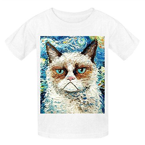 grumpy-cat-is-still-grumpy-girls-crew-neck-personalized-t-shirt-white