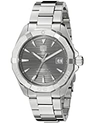 TAG Heuer Mens Aquaracracer Swiss Automatic Stainless Steel Dress Watch, Color:Silver-Toned (Model: WAY2113...