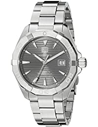 Men's 'Aquaracracer' Swiss Automatic Stainless Steel Dress Watch, Color:Silver-Toned (Model: WAY2113.BA0928)