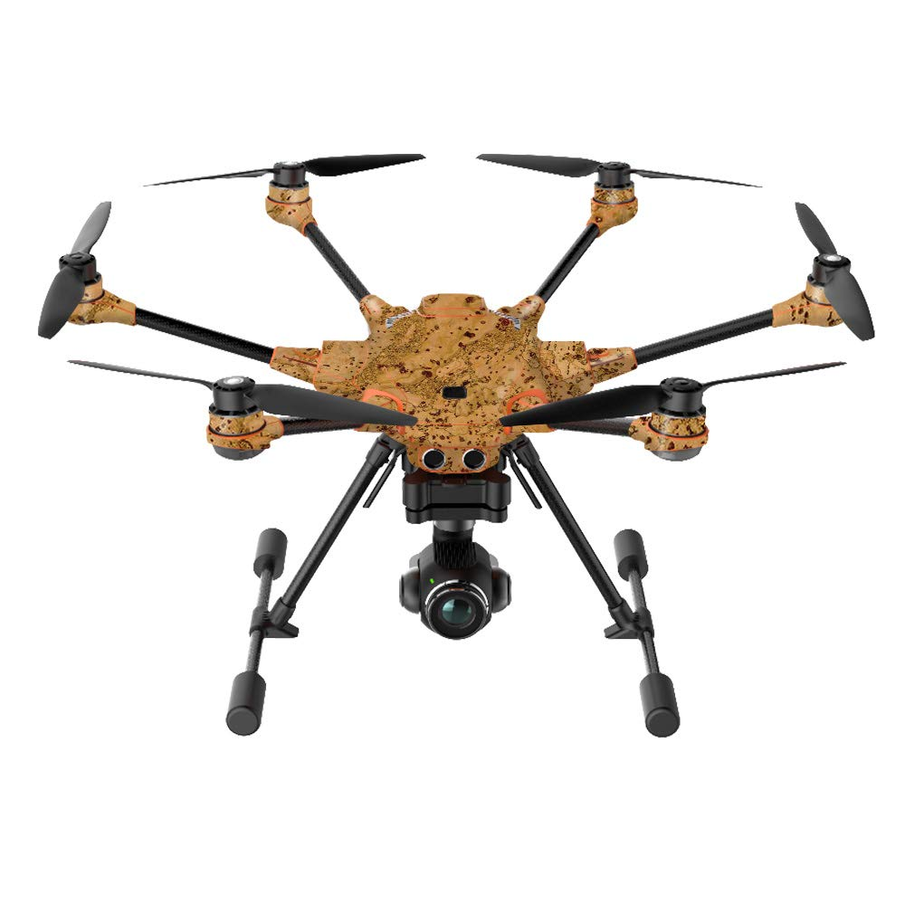 MightySkins Skin Compatible with Yuneec H520-G Quadcopter Drone - Cork | Protective, Durable, and Unique Vinyl Decal wrap Cover | Easy to Apply, Remove, and Change Styles | Made in The USA
