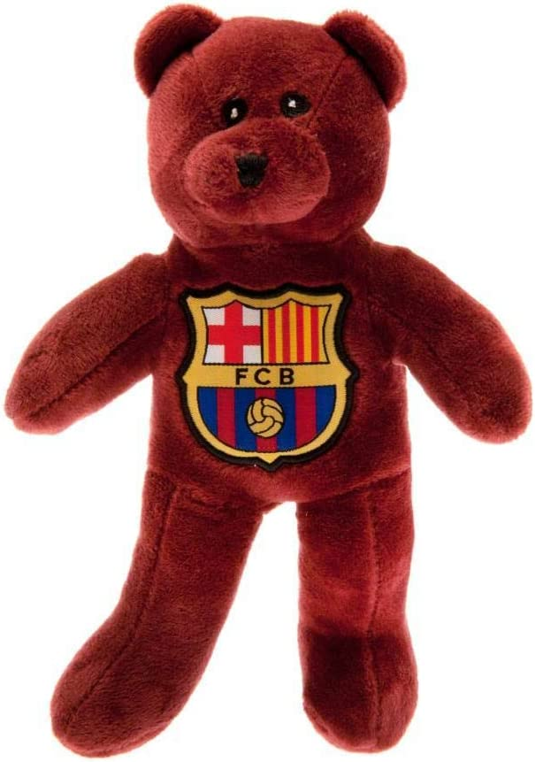 A Great Christmas FC Barcelona Official Football Gift Mini Bear Birthday Gift Idea For Men And Boys by Official FC Barcelona Gifts