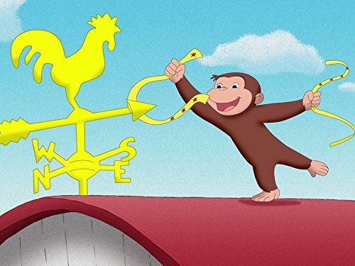 George English Flag (Curious George Goes for 100 / Fearless George)