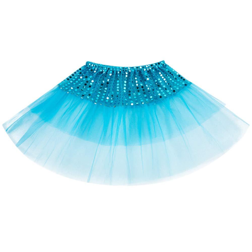 ❤️ Mealeaf ❤️ Todder Kids Girls Ballet Tutu Princess Dress up Dance Wear Costume Party Skirt((2-7 Years ))