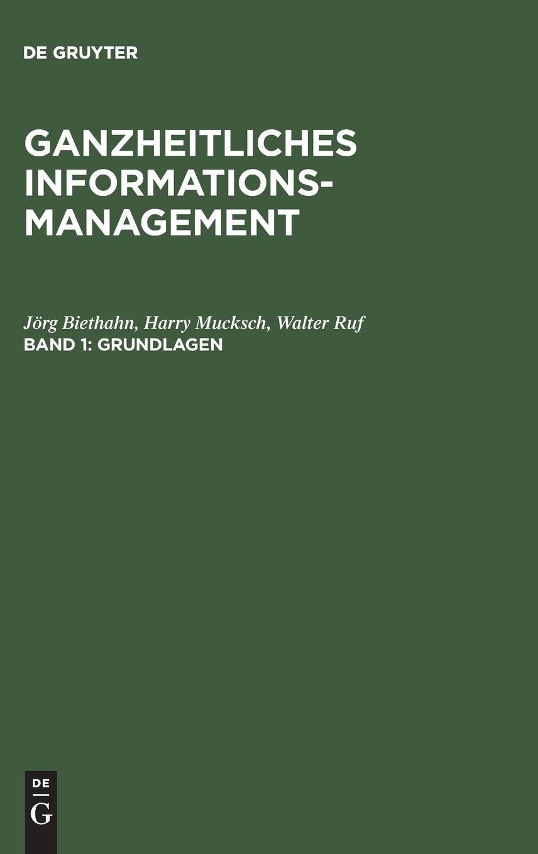 Ganzheitliches Informationsmanagement, Bd.1, Grundlagen