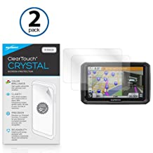Garmin Dezl 770LMTHD Screen Protector, BoxWave® [ClearTouch Crystal (2-Pack)] HD Film Skin - Shields From Scratches for Garmin Dezl 770LMTHD