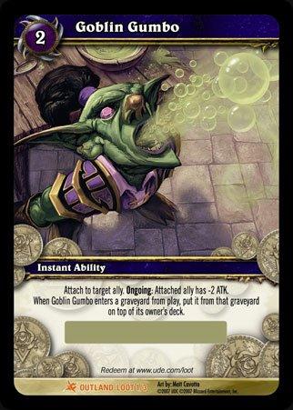 World of Warcraft Goblin Gumbo Geschenkbeutel