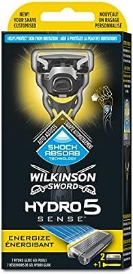 Wilkinson Hydro 5 Energize afeitadora: Amazon.es: Salud y cuidado ...