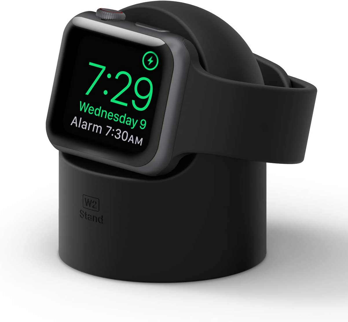 elago W2 Apple Watch Charger Stand Compatible with Apple Watch Series 6/SE/5/4/3/2/1 (44mm, 42mm, 40mm, 38mm) (Black)