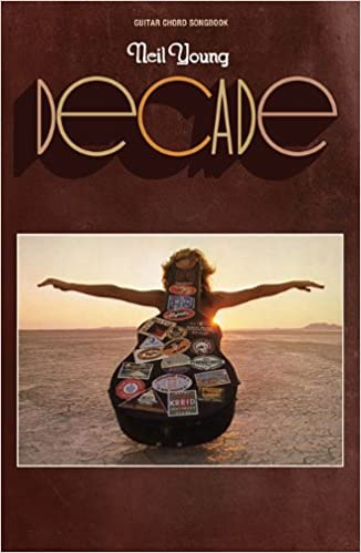Neil Young Decade Guitar Chord Songbook Amazon Neil
