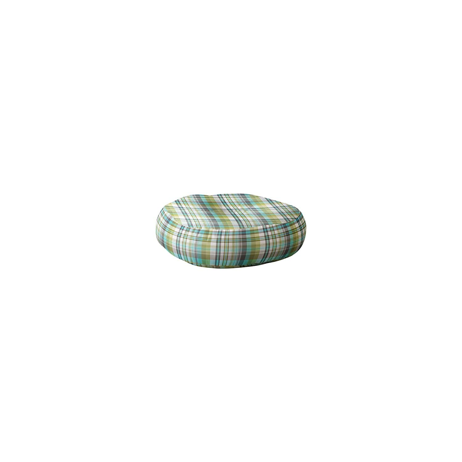 Deny Designs Wendy Kendall Floor Pillow, Carousel