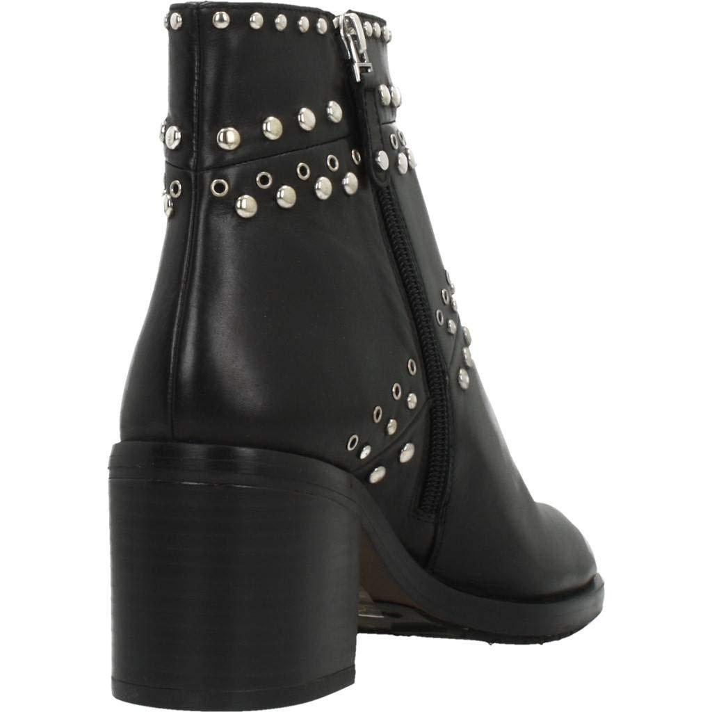 ELVIO ZANON Stiefelleten Stiefel Damen, Farbe Schwarz, Marke, Modell Stiefelleten Damen Stiefel Damen Stiefelleten I6301N Schwarz f26cec