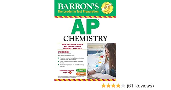 Barron S AP Chemistry 8th Edition