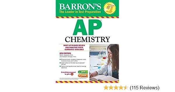 Barrons AP Chemistry 8th Edition