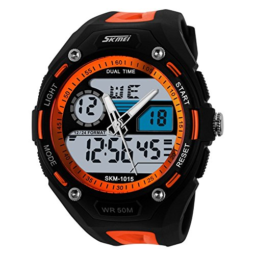 Digital Watches Popular Brand Men Sports Digital Watch 50m Waterproof Back Light Led Digital Watches Chronograph Shock Double Time Wristwatches 1243 Skmei Always Buy Good