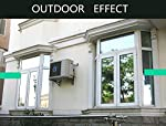 """Timeet Window Film One Way Mirror Reflective Anti UV Self Adhesive Solar Film Decorative Static Cling Heat Control Privacy Glass Tint for Home and Office ?17.7"""" x 78.7""""?Sliver?"""