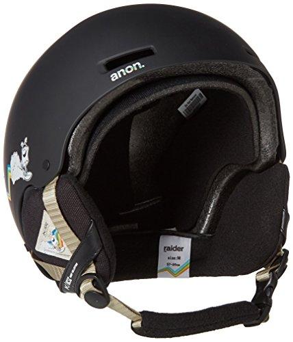 2012 Burton Mens Snowboard (Anon Men's Raider Helmet, HCSC, Medium)