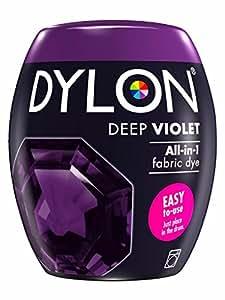 DYLON Machine Dye Pods 350g - Full Range of Colours Available (Deep Violet)