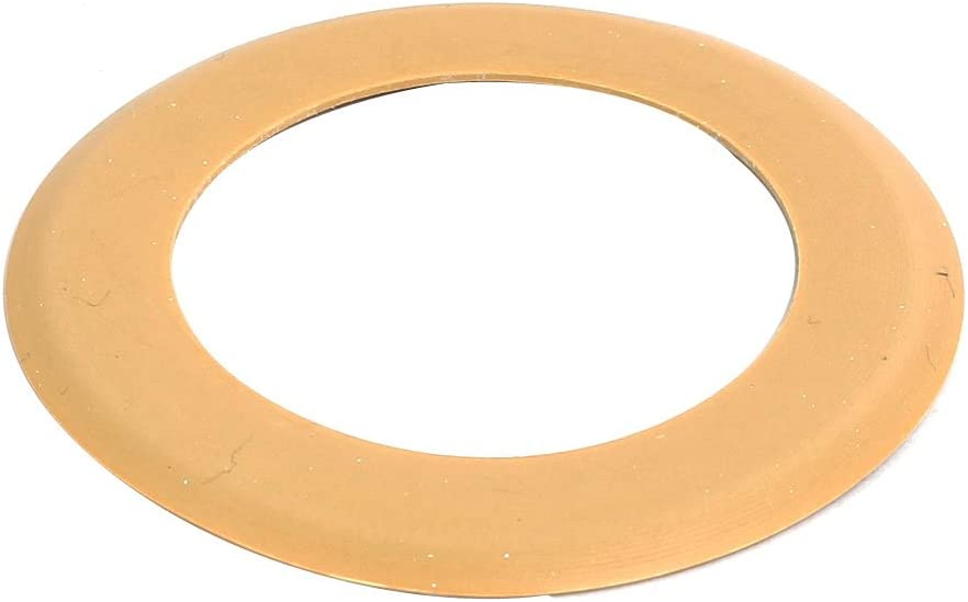 Yellow sourcing map Air Compressor Compression Piston Ring Replacement Part 26mm OD 10mm ID 0.5mm Thickness