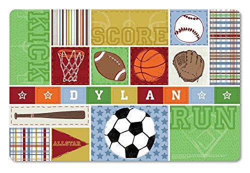 Personalized Placemat - Personalized Placemat Craft Mat Sports